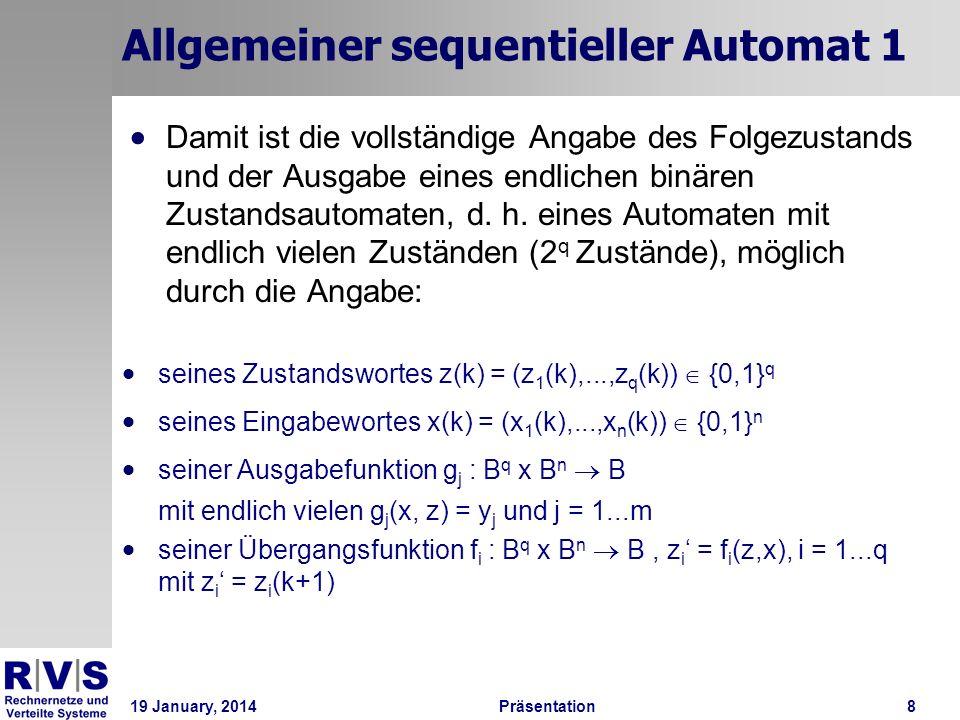 Allgemeiner sequentieller Automat 1