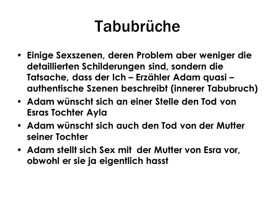 Tabubrüche