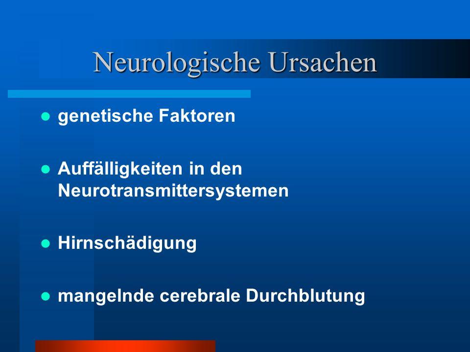 Neurologische Ursachen