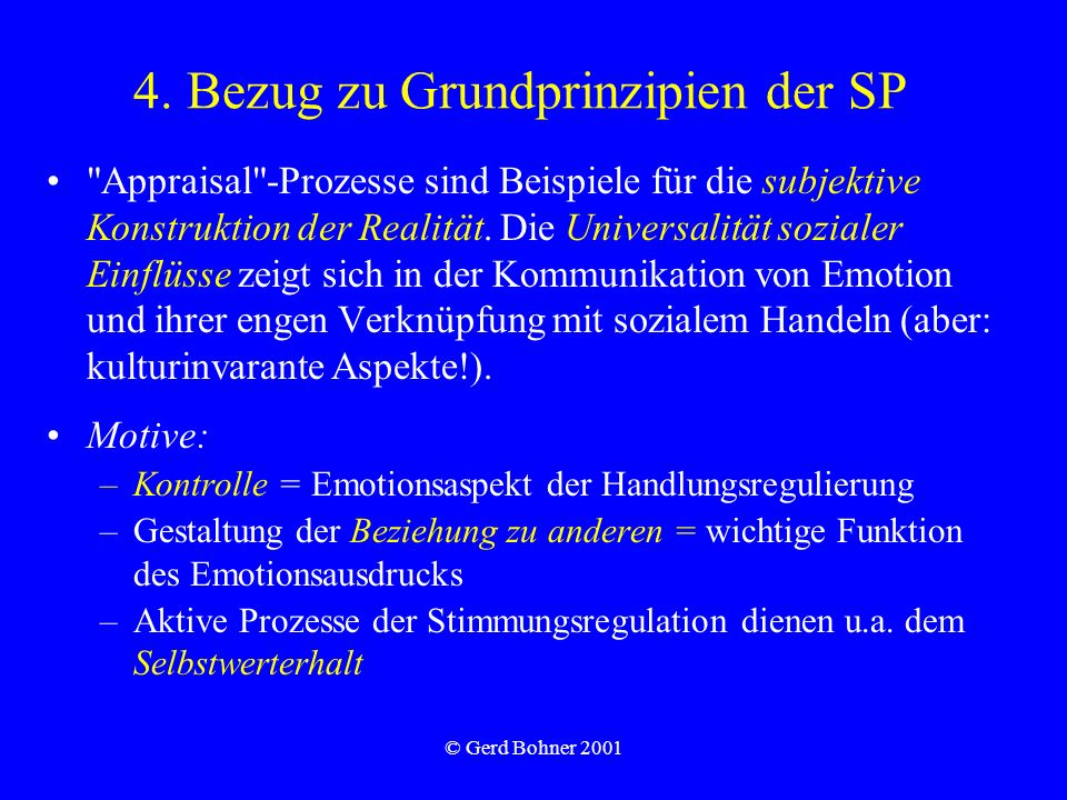 4. Bezug zu Grundprinzipien der SP