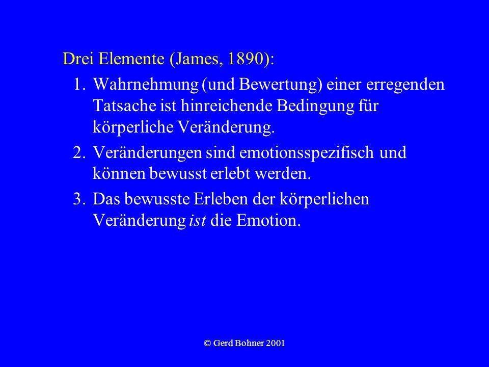 Drei Elemente (James, 1890):