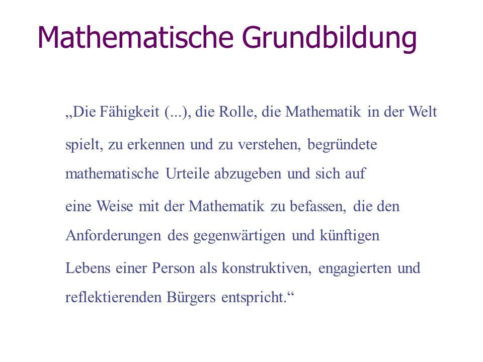 Mathematische Grundbildung