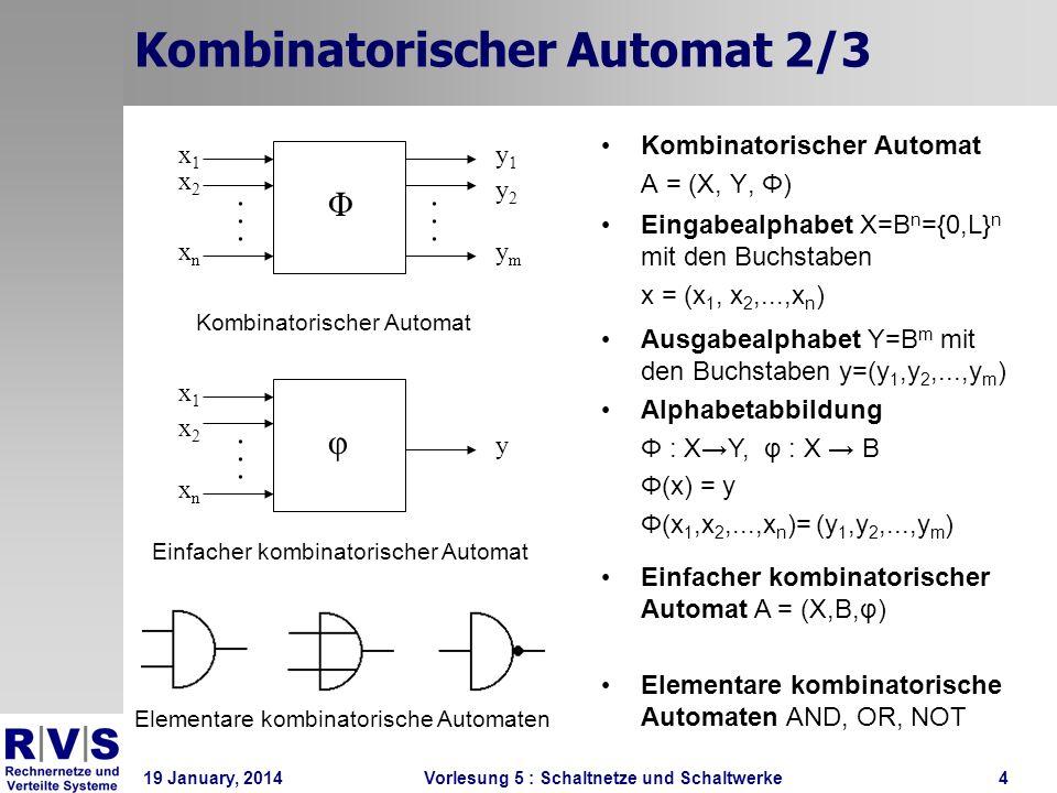 Kombinatorischer Automat 2/3