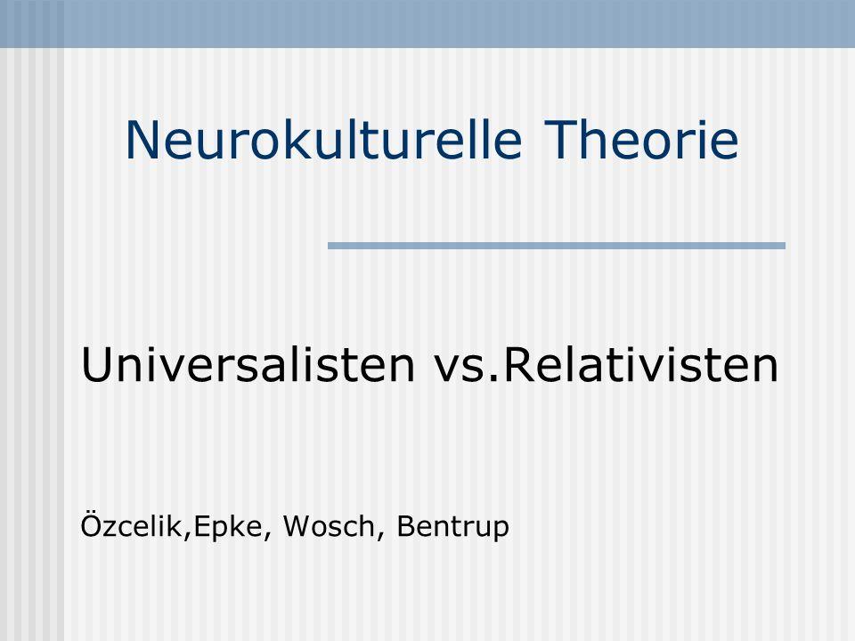 Neurokulturelle Theorie