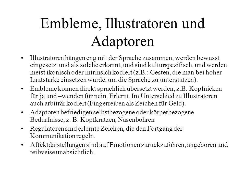 Embleme, Illustratoren und Adaptoren