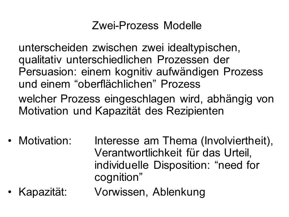 Zwei-Prozess Modelle
