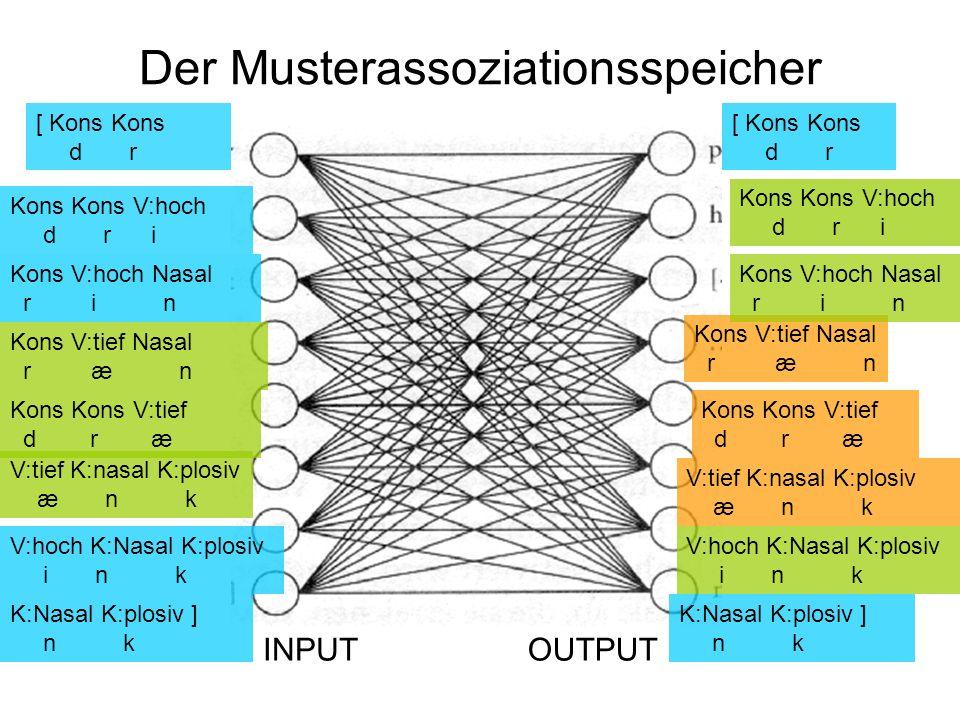 Der Musterassoziationsspeicher