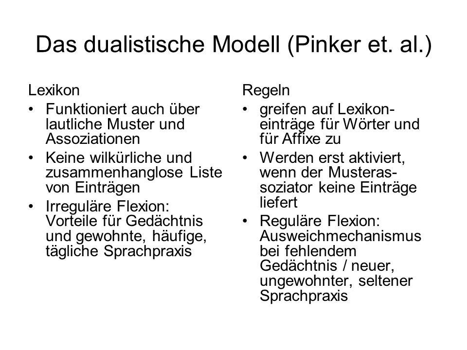 Das dualistische Modell (Pinker et. al.)