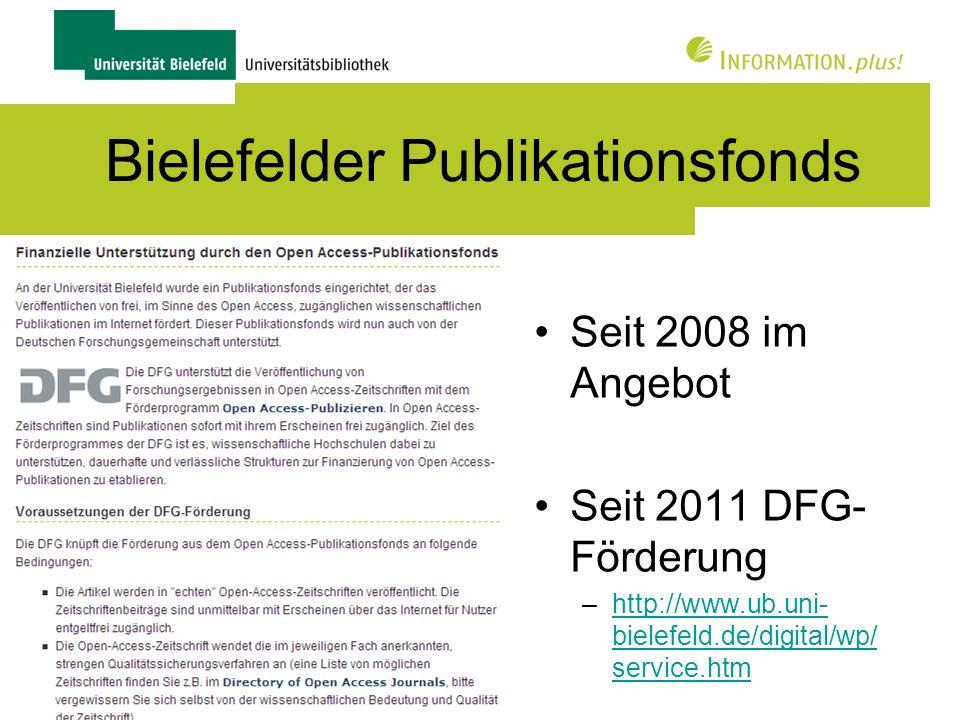 Bielefelder Publikationsfonds