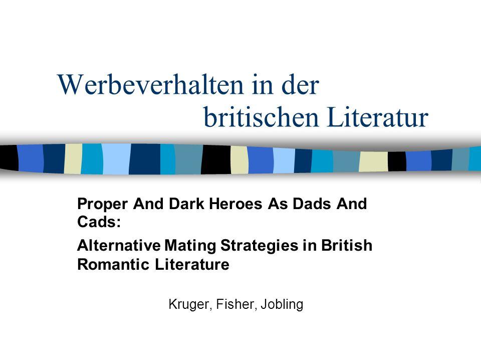 Werbeverhalten in der britischen Literatur
