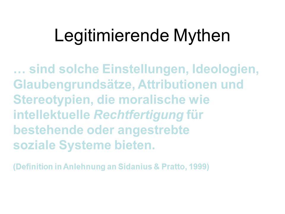 Legitimierende Mythen