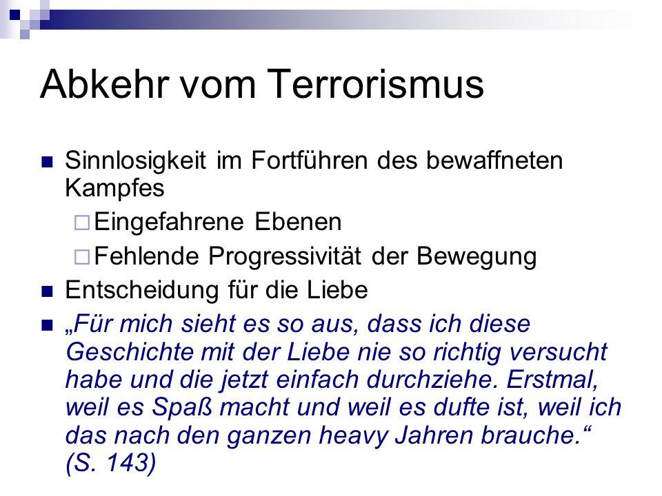 Abkehr vom Terrorismus