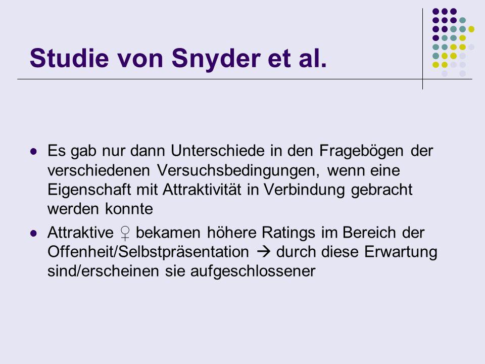 Studie von Snyder et al.