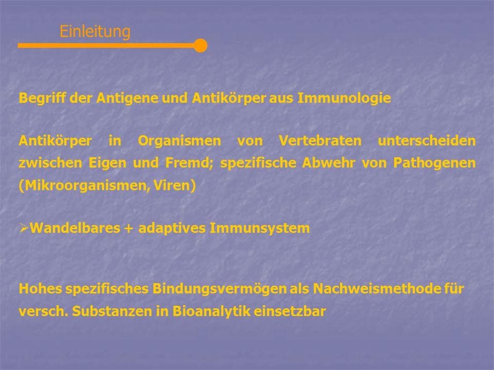 Einleitung Begriff der Antigene und Antikörper aus Immunologie