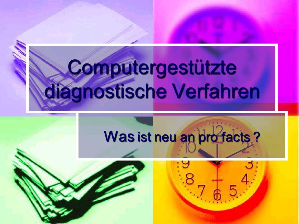 Computergestützte diagnostische Verfahren