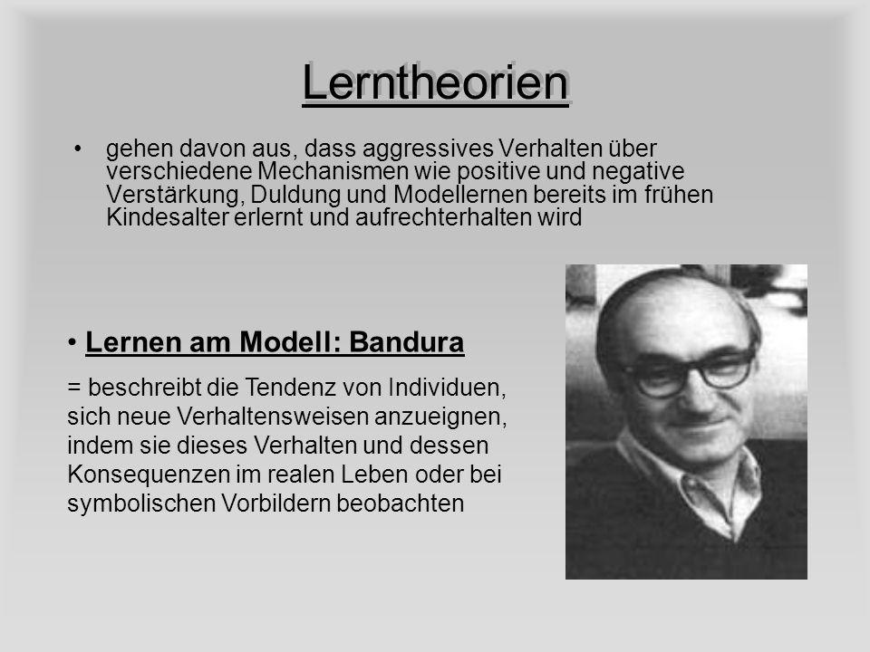 Lerntheorien Lernen am Modell: Bandura