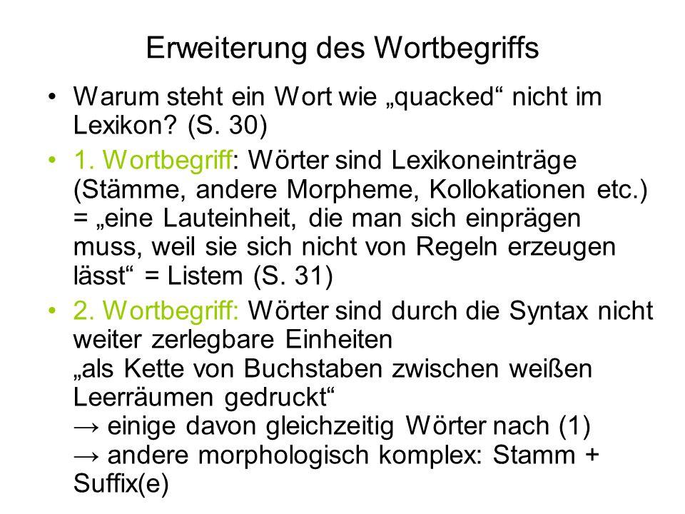 Erweiterung des Wortbegriffs