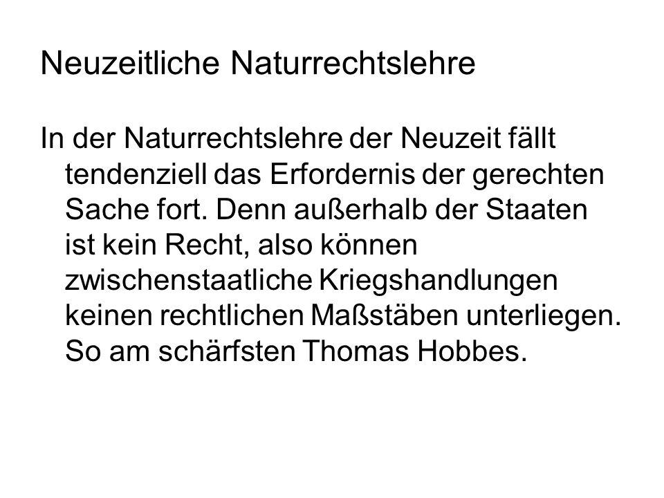 Neuzeitliche Naturrechtslehre