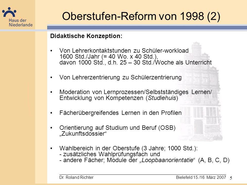 Oberstufen-Reform von 1998 (2)