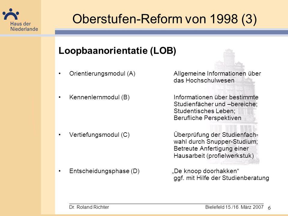 Oberstufen-Reform von 1998 (3)