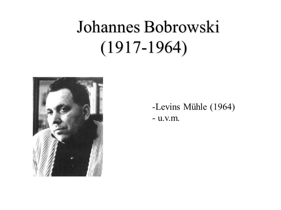 Johannes Bobrowski (1917-1964)