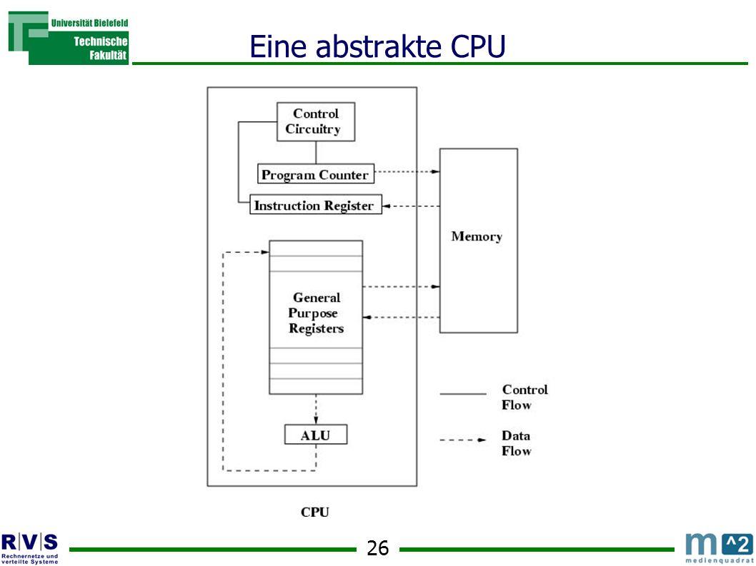 Eine abstrakte CPU