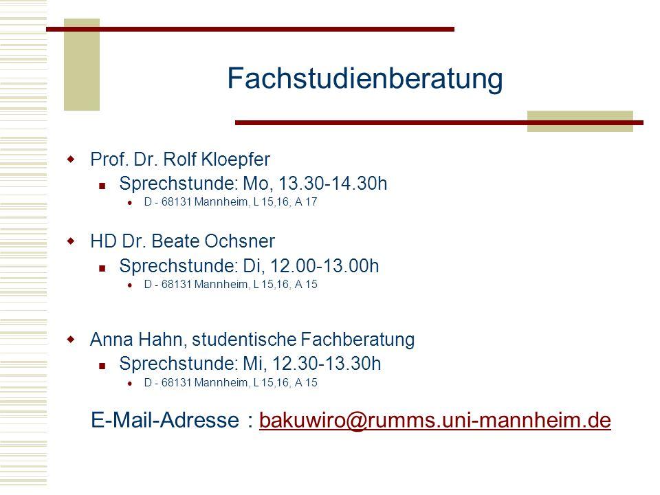E-Mail-Adresse : bakuwiro@rumms.uni-mannheim.de