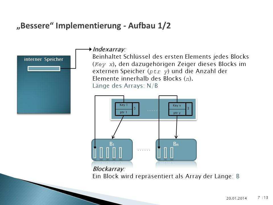 """""""Bessere Implementierung - Aufbau 1/2"""