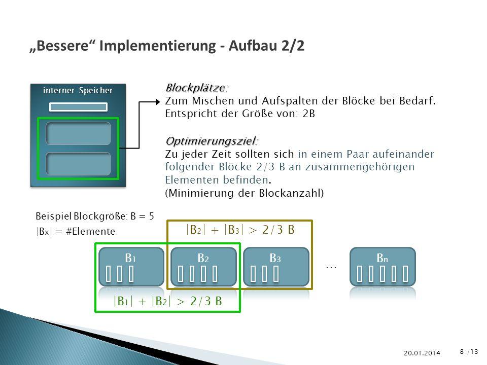 """""""Bessere Implementierung - Aufbau 2/2"""