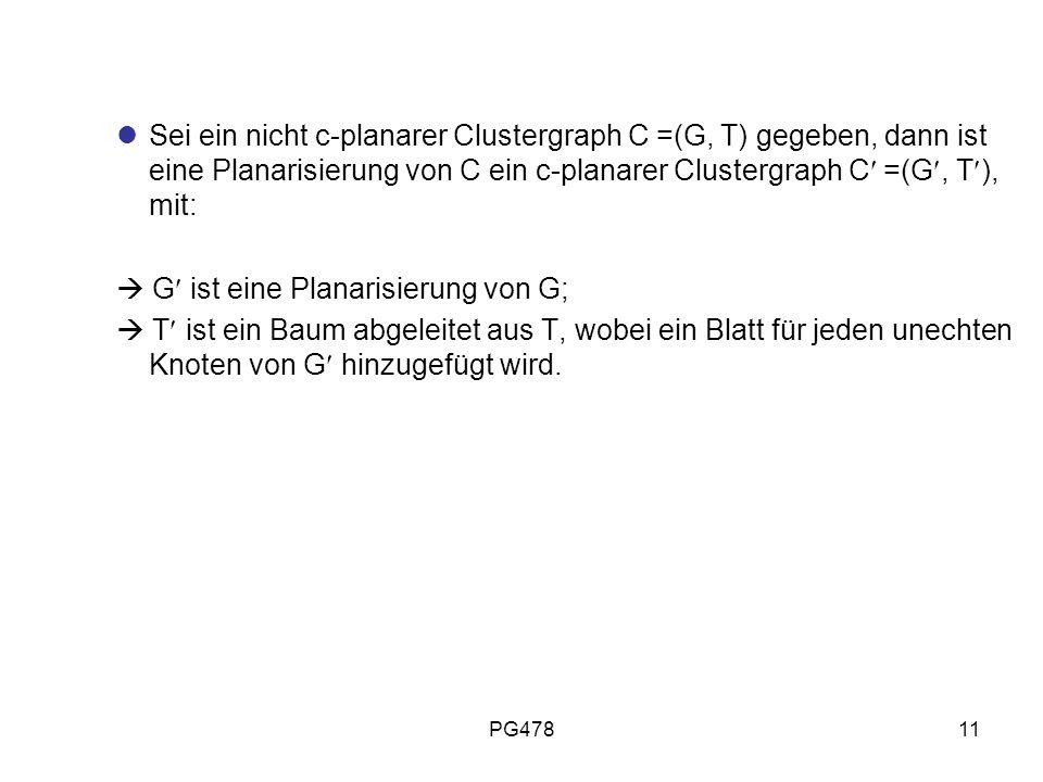  G ist eine Planarisierung von G;