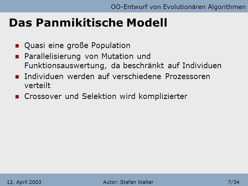 Das Panmikitische Modell