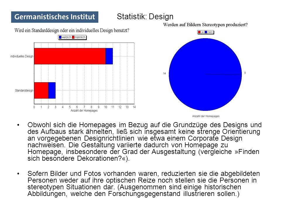 Statistik: Design