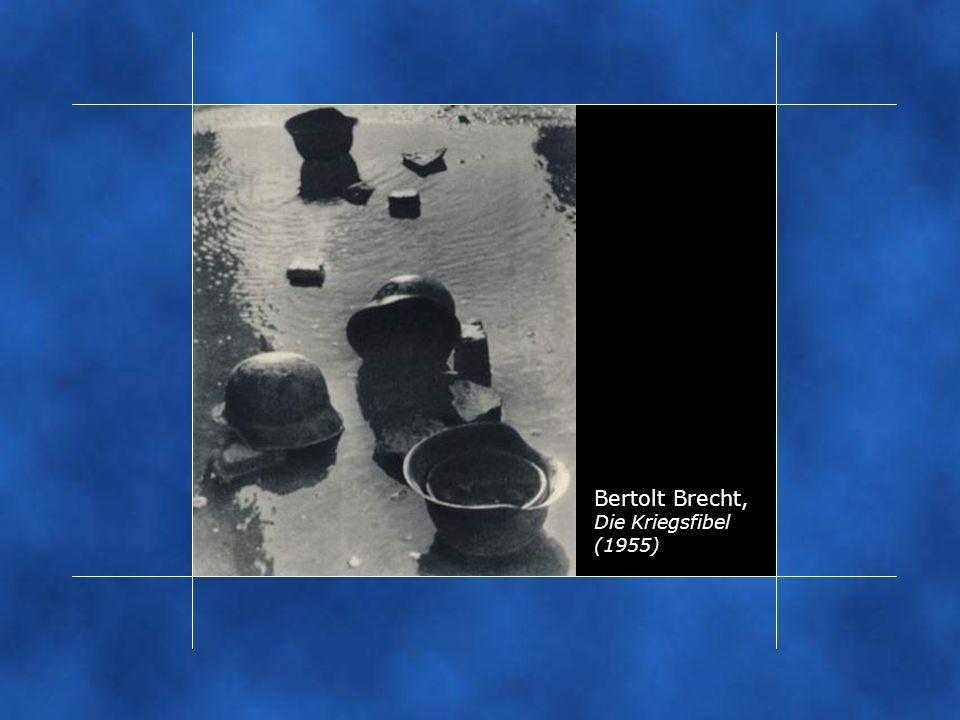 Bertolt Brecht, Die Kriegsfibel (1955)