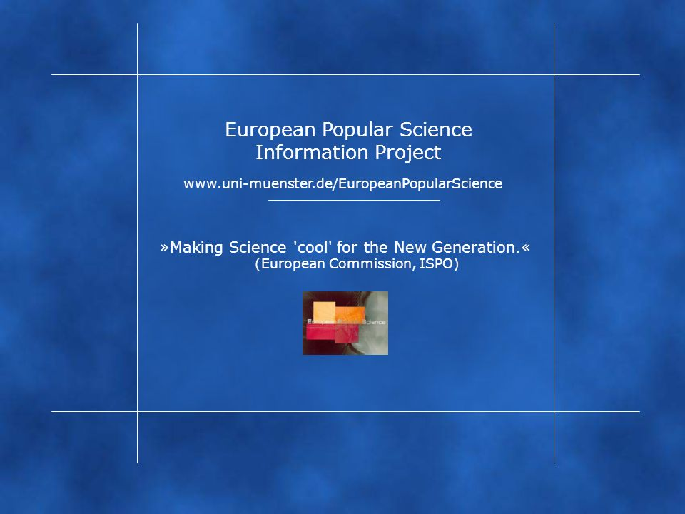 European Popular Science Information Project