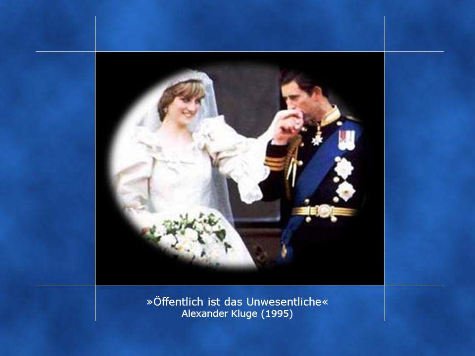 »Öffentlich ist das Unwesentliche« Alexander Kluge (1995)
