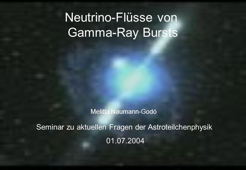 Seminar zu aktuellen Fragen der Astroteilchenphysik