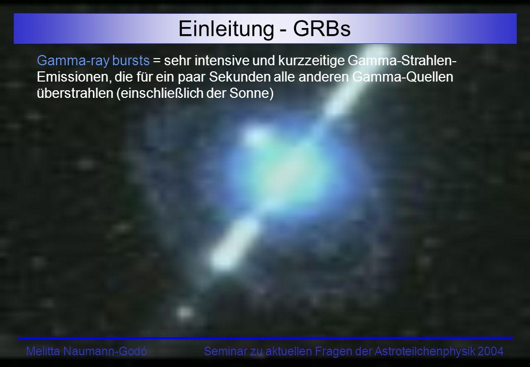 Einleitung - GRBs
