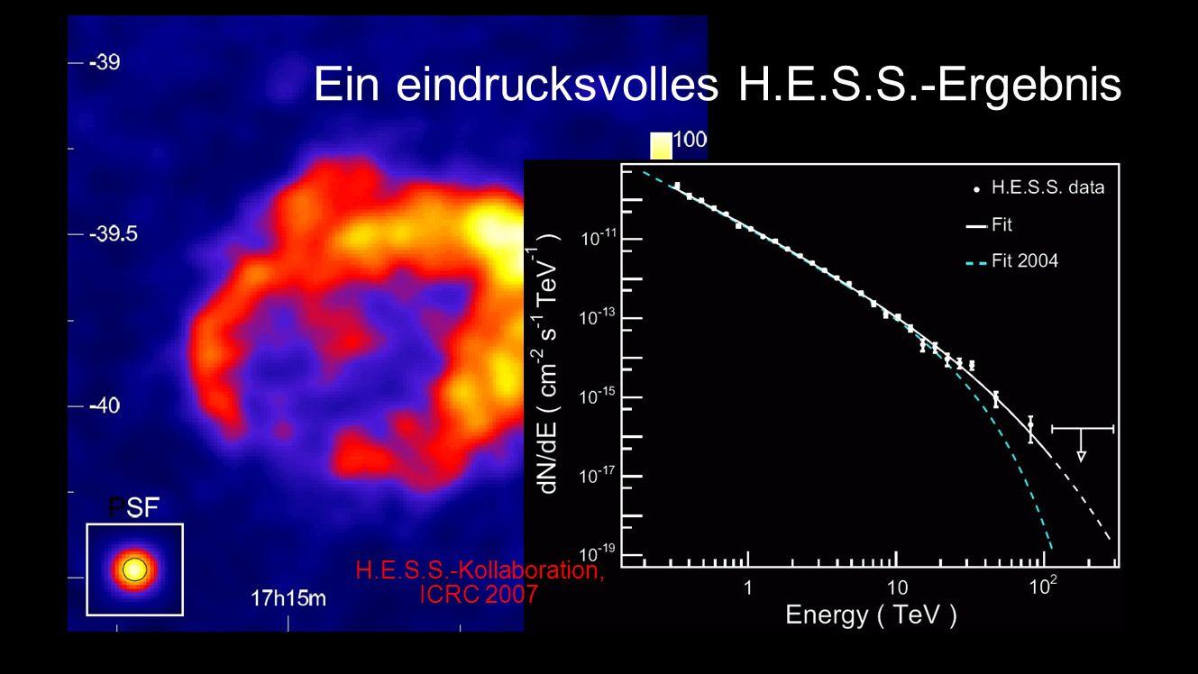 Ein eindrucksvolles H.E.S.S.-Ergebnis