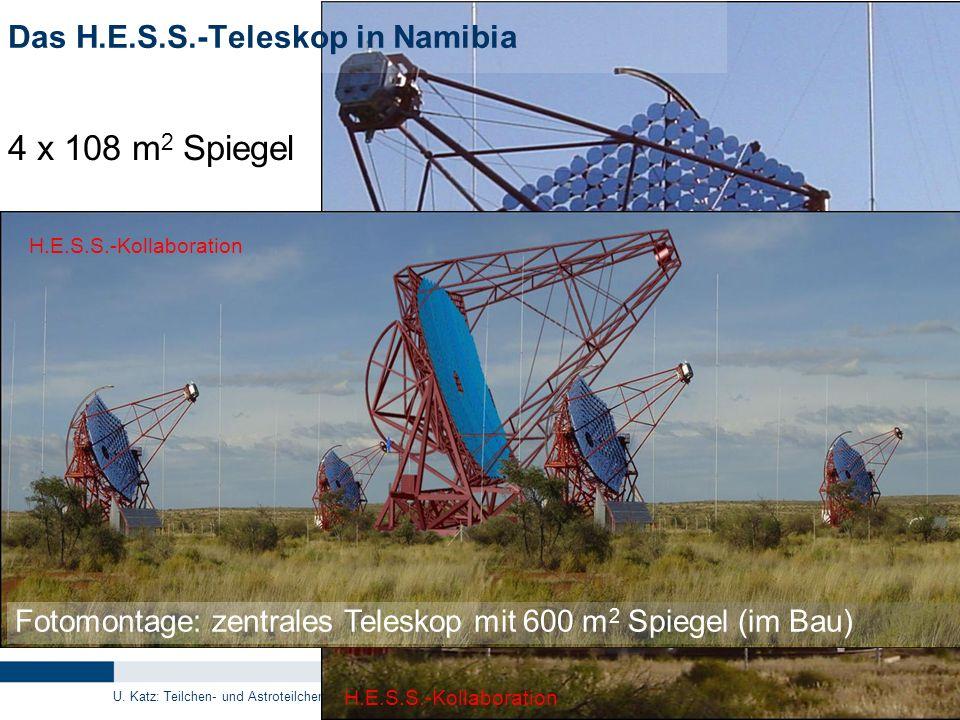 Das H.E.S.S.-Teleskop in Namibia