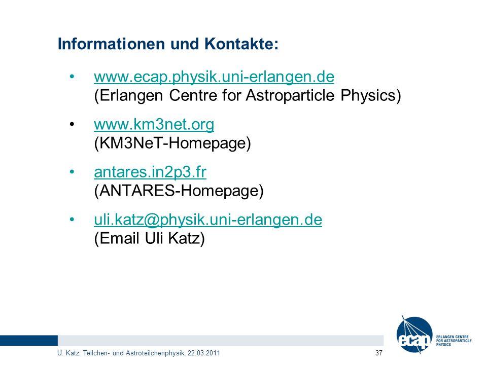 Informationen und Kontakte: