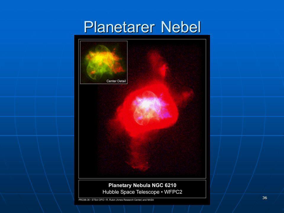 Planetarer Nebel