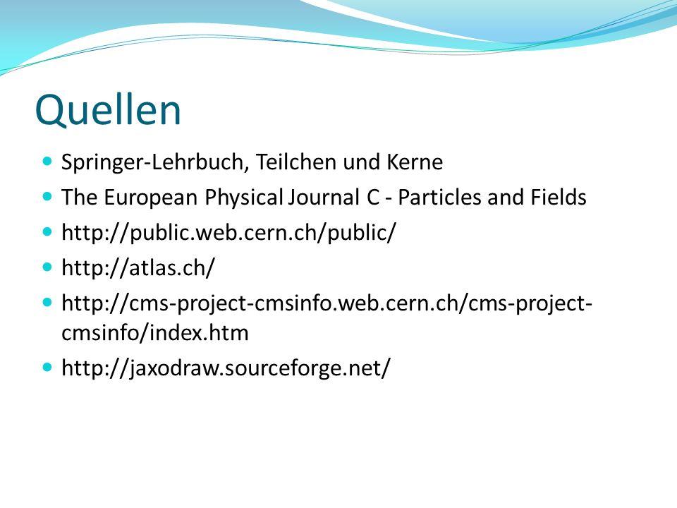 Quellen Springer-Lehrbuch, Teilchen und Kerne