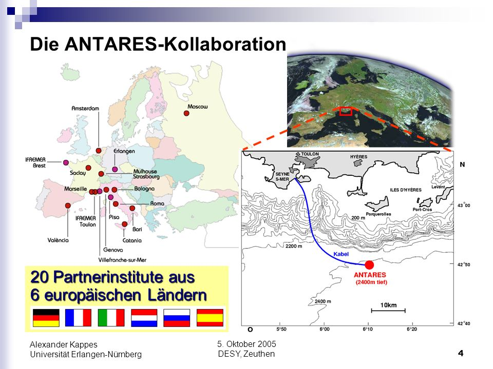Die ANTARES-Kollaboration
