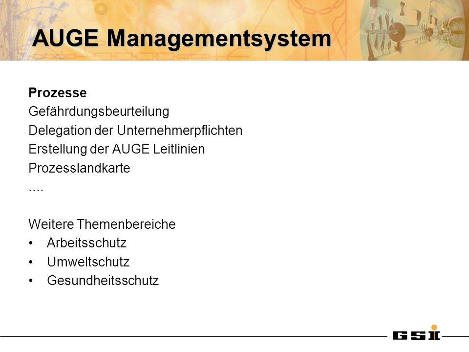 AUGE Managementsystem