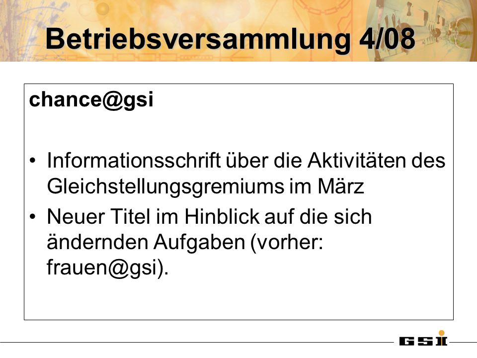 Betriebsversammlung 4/08
