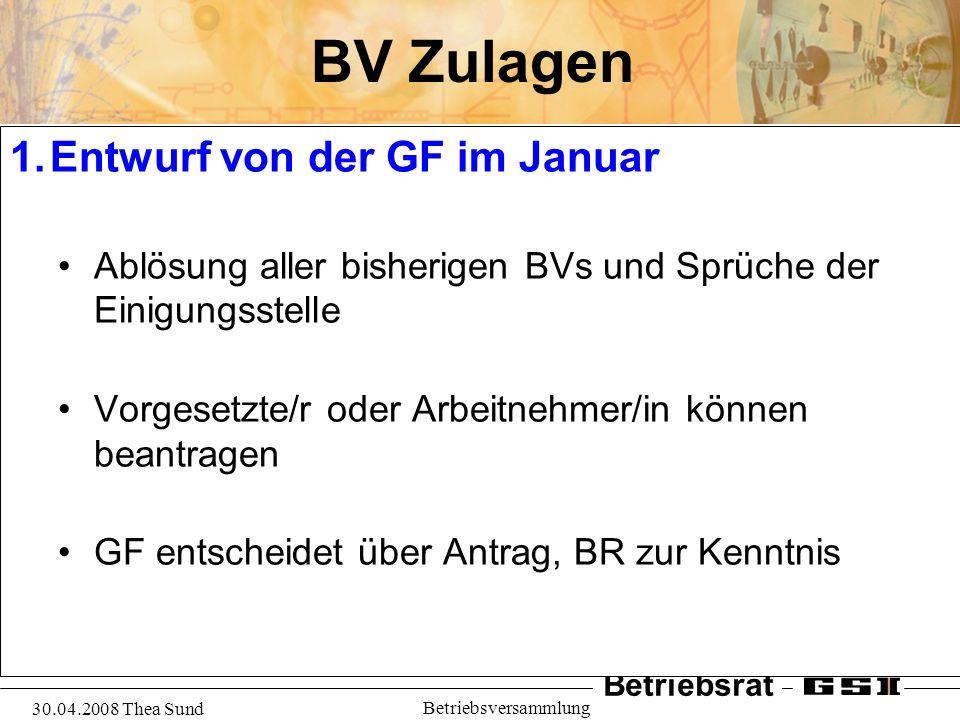 BV Zulagen Entwurf von der GF im Januar