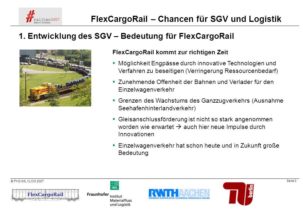 1. Entwicklung des SGV – Bedeutung für FlexCargoRail