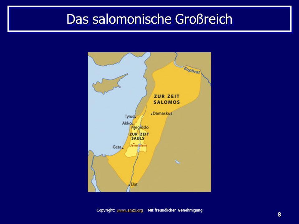 Das salomonische Großreich