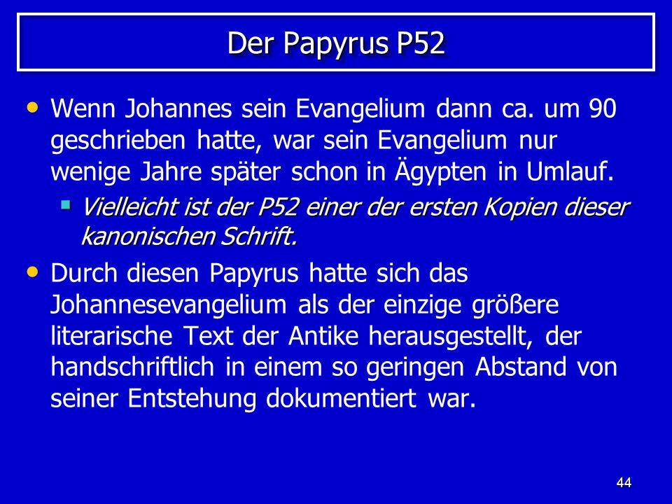 Der Papyrus P52