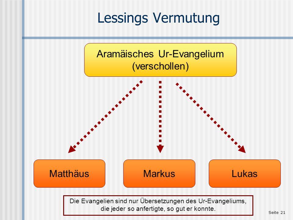 Aramäisches Ur-Evangelium